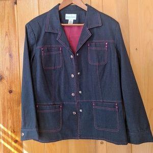 Jackets & Blazers - Jean suit set